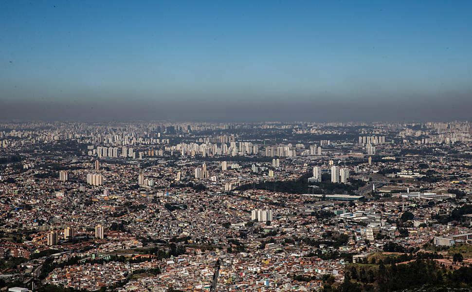 Tempo seco em São Paulo
