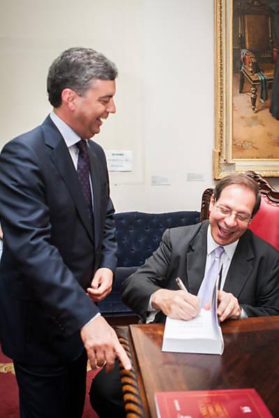 Ministro Luis Felipe Salomão lança livro em SP