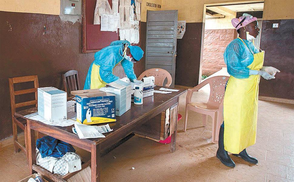 Ebola avança no oeste da África