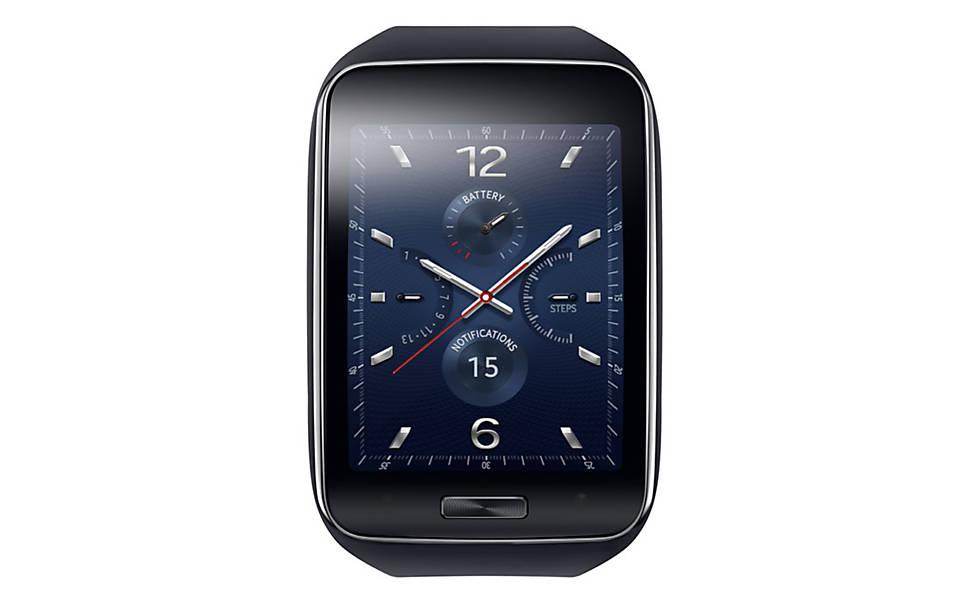 ff4811f04d0 Tec 28 08 2014 Novo relógio inteligente da Samsung tem tela curva e  conectividade 3G ...