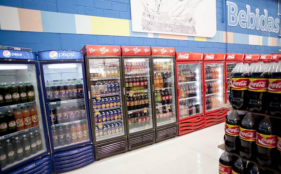 Refrigerantes perdem espaço no Brasil