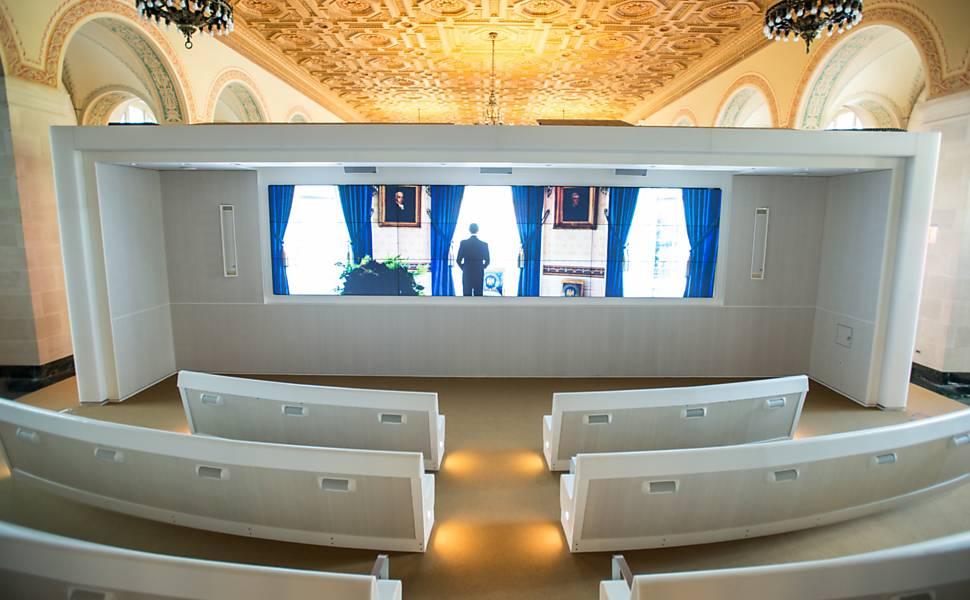 Casa Branca reabre para visitantes