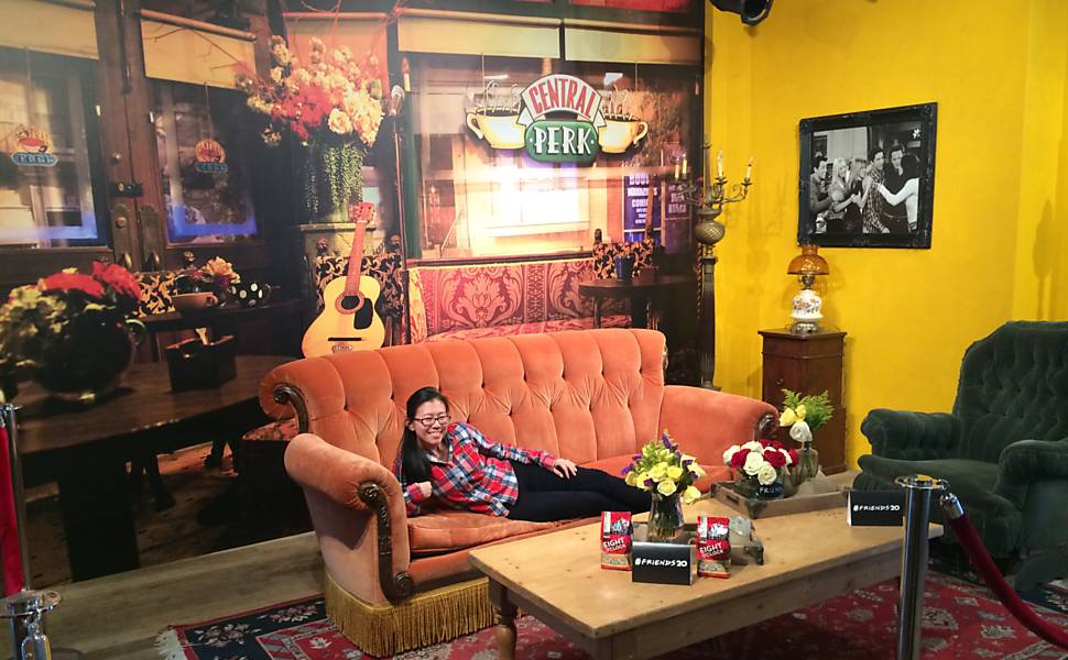 'Friends' 20 anos - Memorabília no Central Perk
