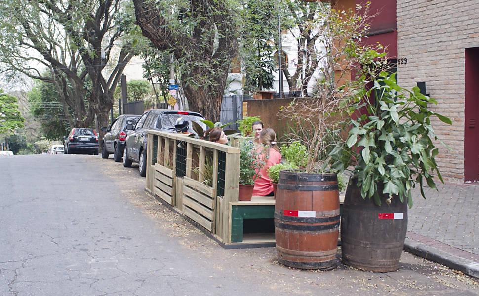 Parklets em SP