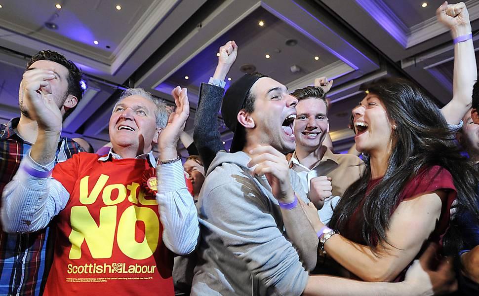 Plebiscito na Escócia, em 2014