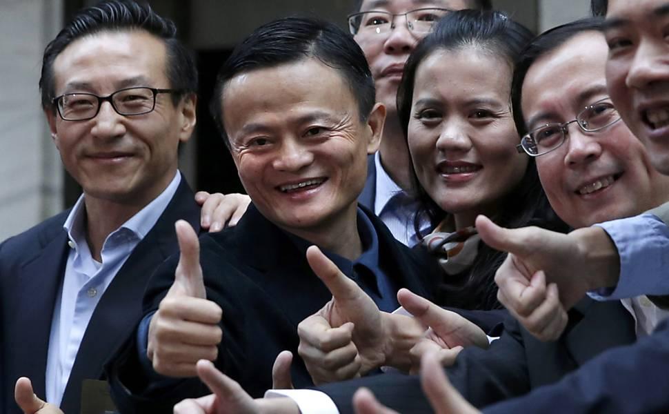 Alibaba Group entra na Bolsa de Nova York