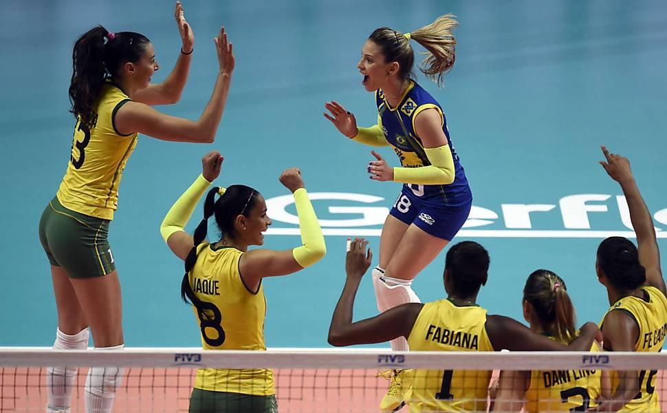 Seleção brasileira feminina no Mundial de vôlei