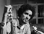 O cantor Zé Ramalho em foto de 1981