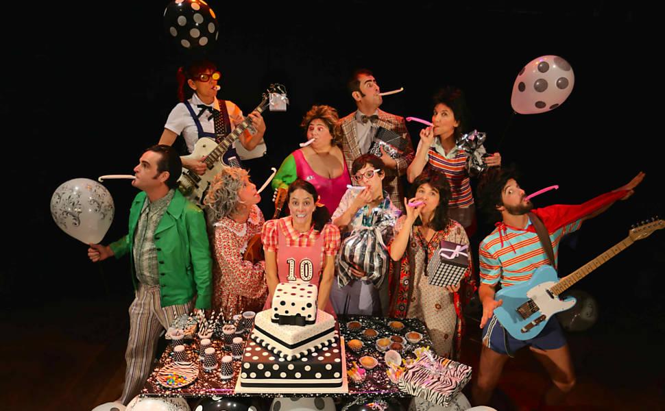 Espetáculo 'Festa'
