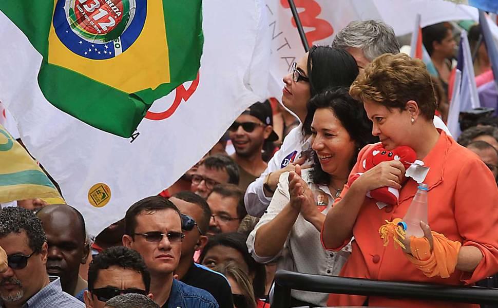 A campanha de Dilma Rousseff em 10 fotos