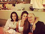 Carol Muniz posta foto em rede social ao lado do namorado Marco Polo Del Nero