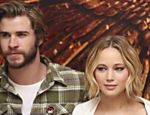 Liam Hemsworth e Jennifer Lawrence