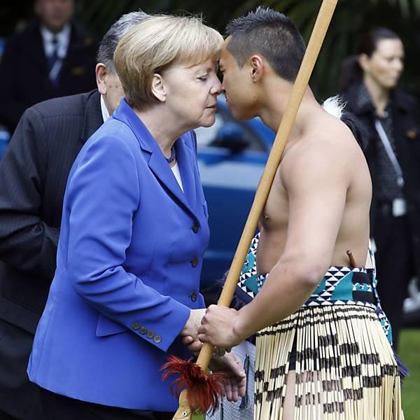 Veja quem já fez a saudação maori na Nova Zelândia