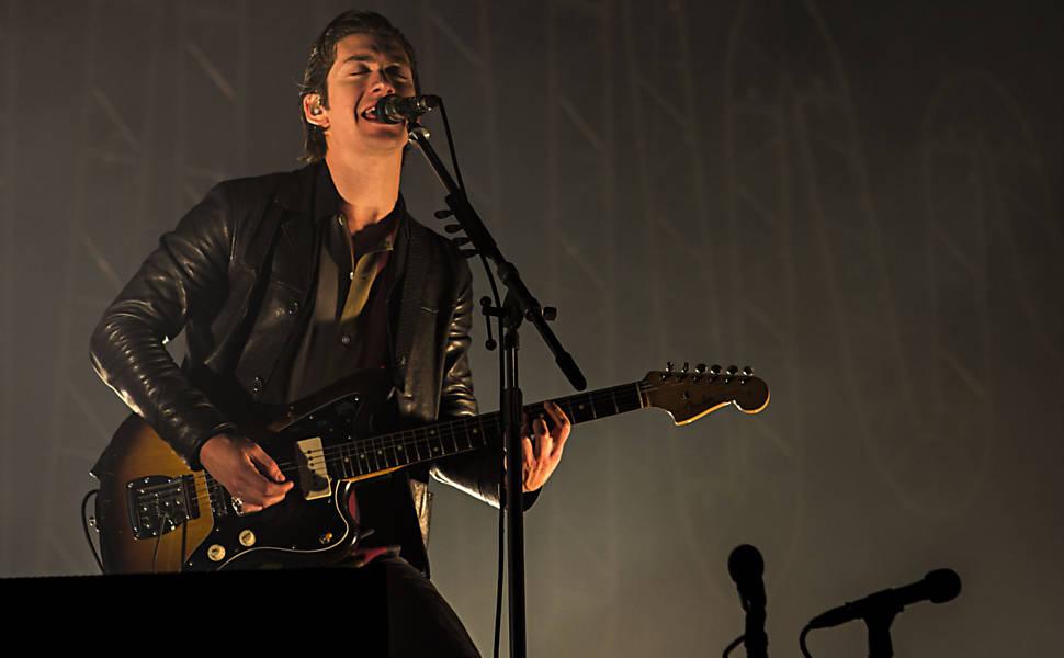Arctic Monkeys e The Hives em SP