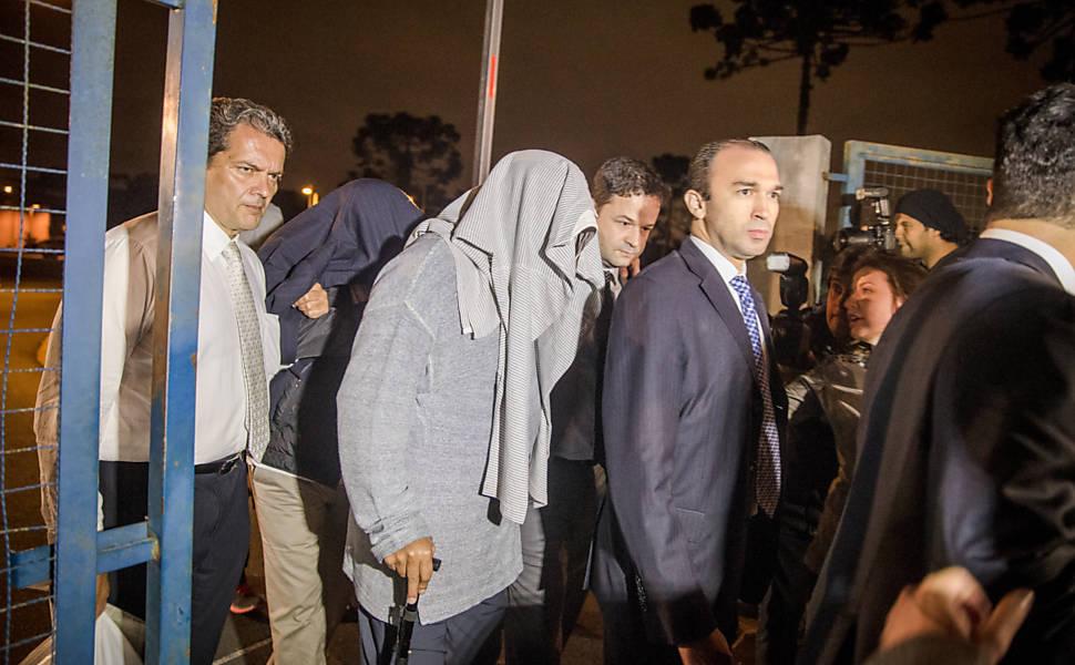 Detidos da Lava Jato são soltos em Curitiba
