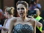 Angelina Jolie no tapete vermelho de