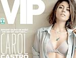 Carol Castro é capa da revista VIP do mês de dezembro