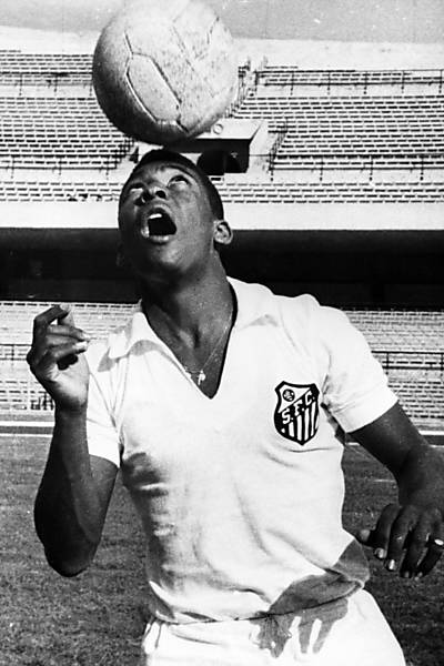 Grandes momentos de Pelé no futebol