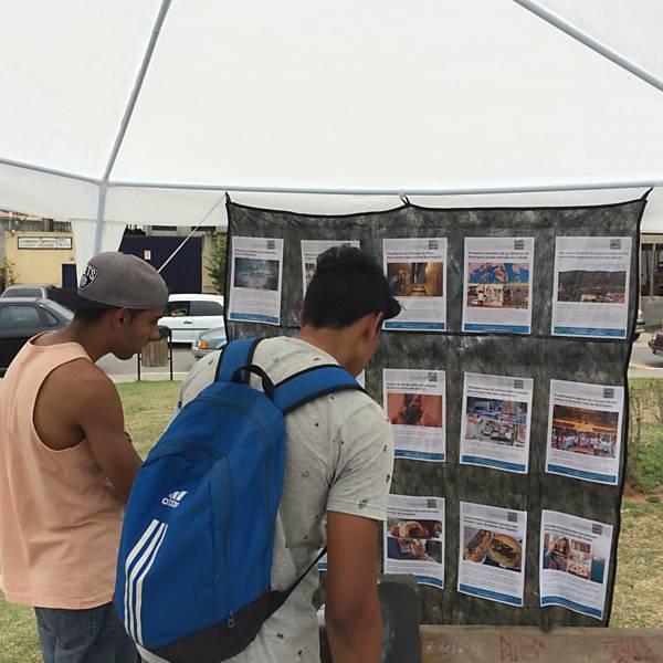 Mural realiza exposição com notícias em evento de Mairiporã