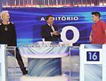 Programa Silvio Santos recebe Supla e João Suplicy no 'Jogo das 3 Pistas'