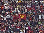 Arquibancada no estádio Azteca
