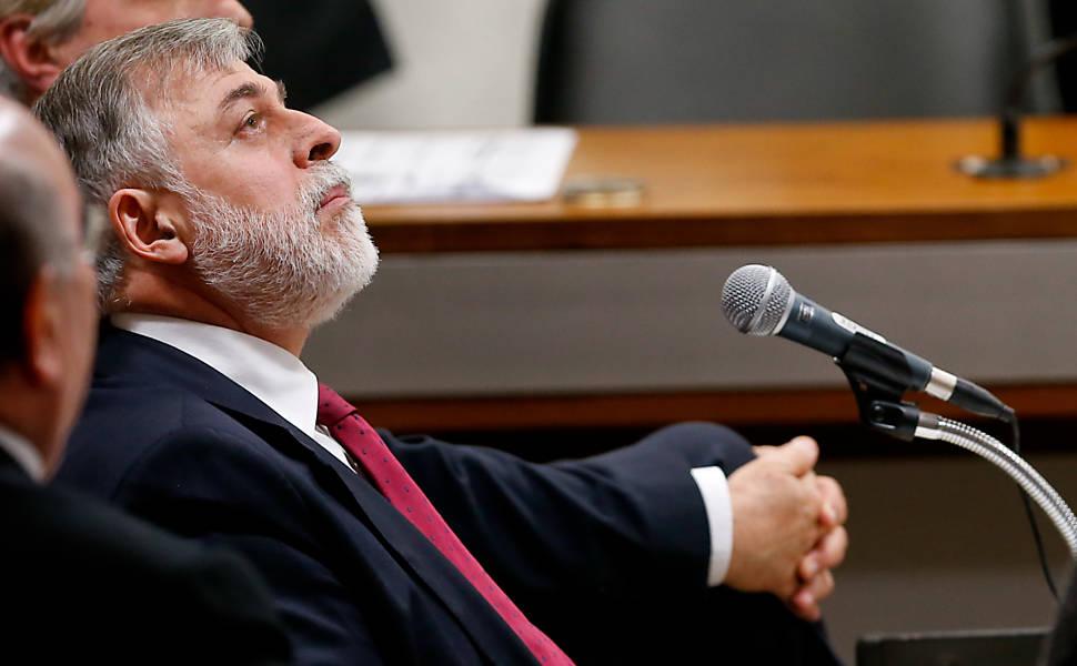 Acareação na CPI da Petrobras, em 2014