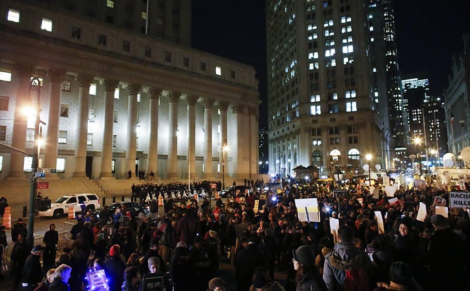 Protesto Nova York - 04.dez.2014