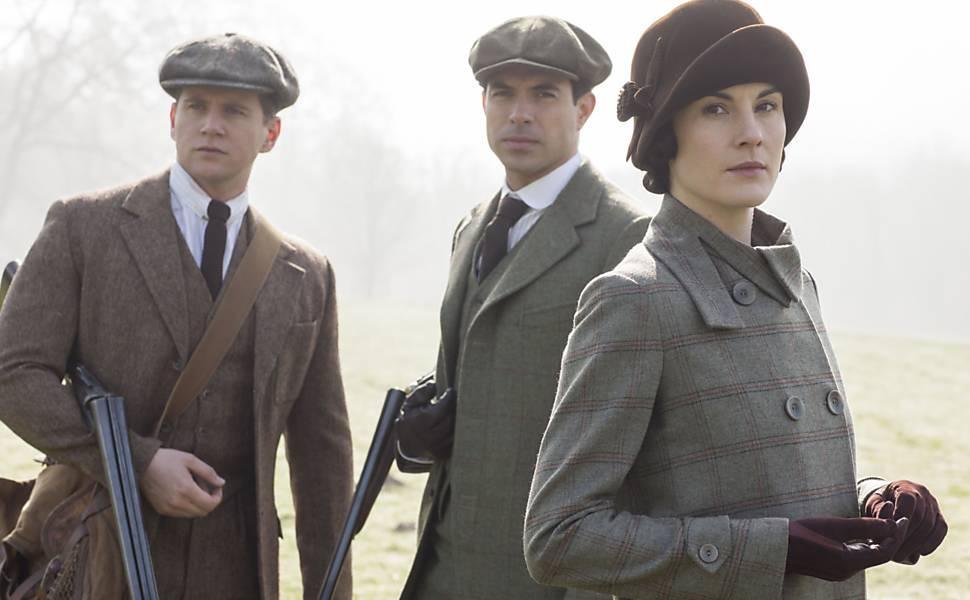 Veja cenas da série 'Downton Abbey'