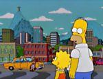 Cena do episódio dos 'Simpsons' ambientado no Rio de Janeiro (RJ), veiculado pela primeira vez em 2002 como parte da 13ª temporada