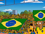 Simpsons voltam ao Brasil no episodio 'You Don't Have To Live Like A Referee', durante a copa do mundo de 2014; no episodio, Brasil perde para a Alemanha