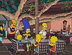 Cena do episódio 'Você Não Precisa Viver Como um Árbitro', em que a família Simpsons vem ao Brasil pela segunda vez