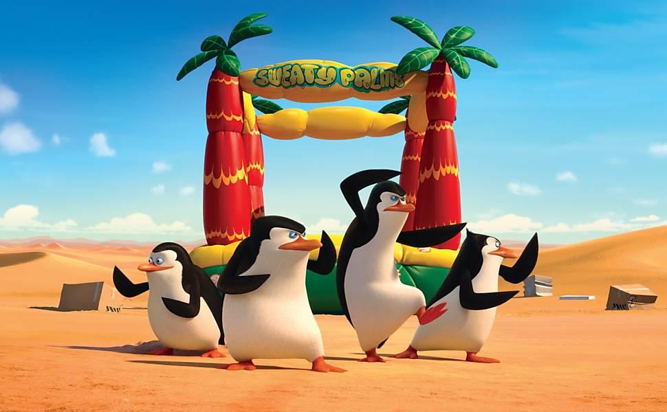 Imagens de 'Os Pinguins de Madagascar'