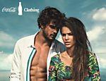 Marlon Teixeira e Bruna Marquezine em foto de campanha da Coca-Cola Clothing