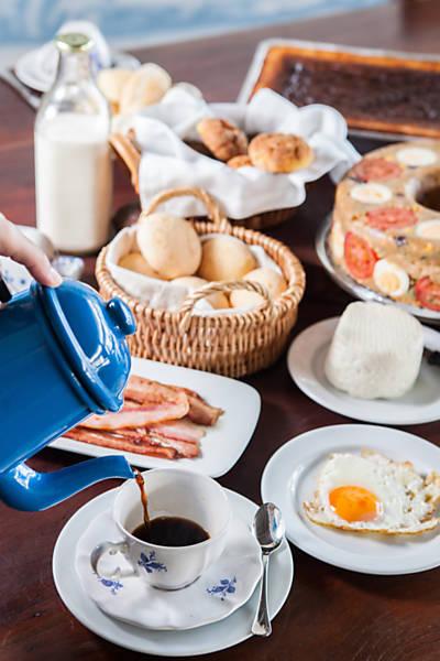 Cafés da manhã pelo país