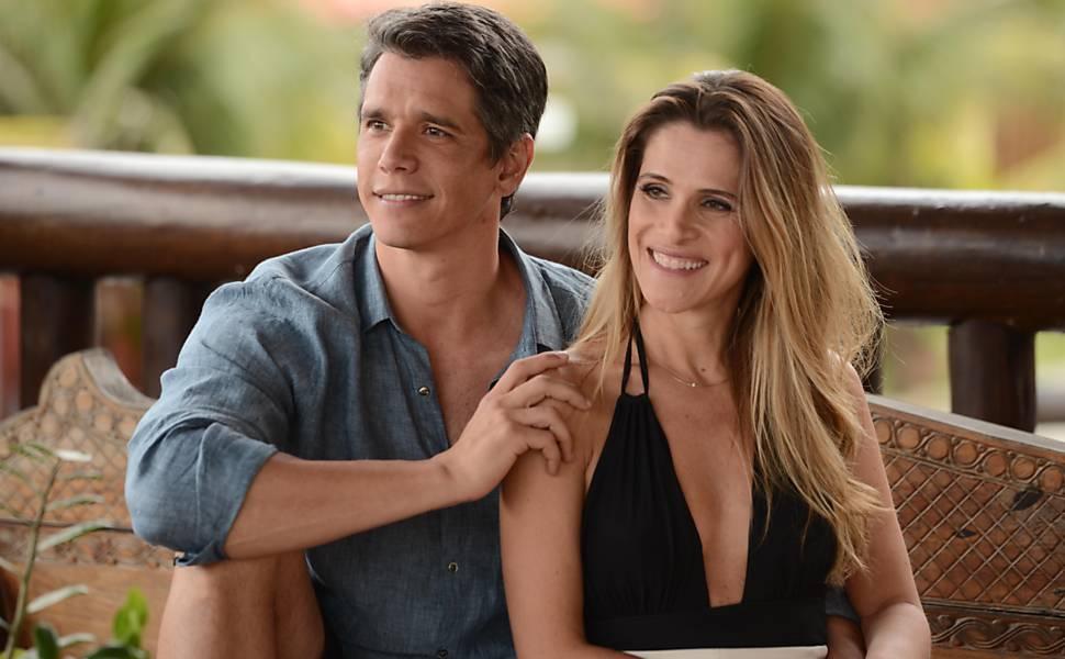 Márcio Garcia e Ingrid Guimarães estão no elenco da comédia nacional