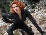 Scarlett Johansson como Viúva Negra em cena do filme