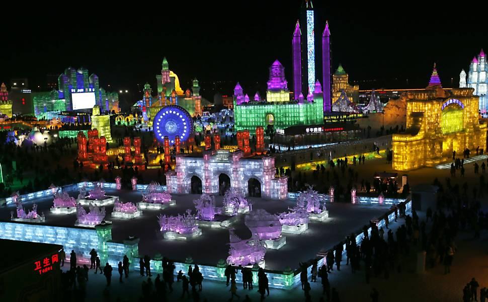 Festival Internacional de Gelo e Neve em Harbin
