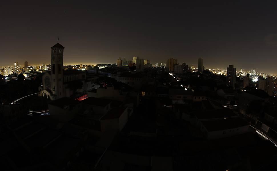 Falta de luz em São Paulo