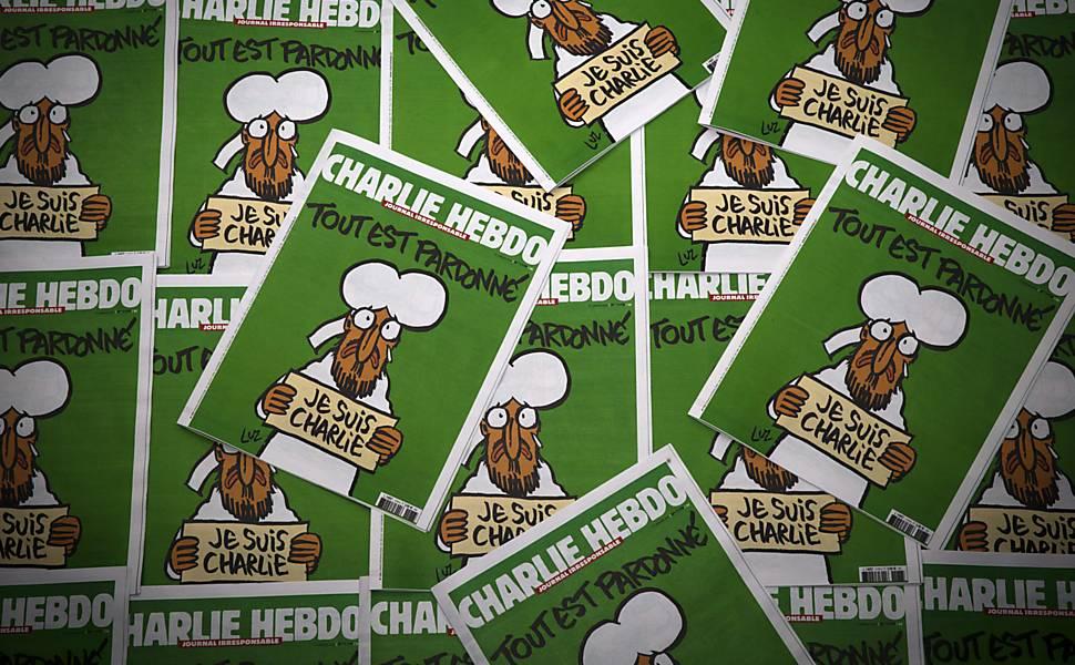 Nova edição do 'Charlie Hebdo' chega às bancas