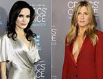 Angelina Jolie e Jennnifer Aniston presenciam o Critics' Choice Awards