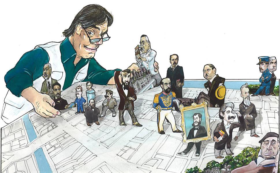 Paulistanos ilustres ilustrados
