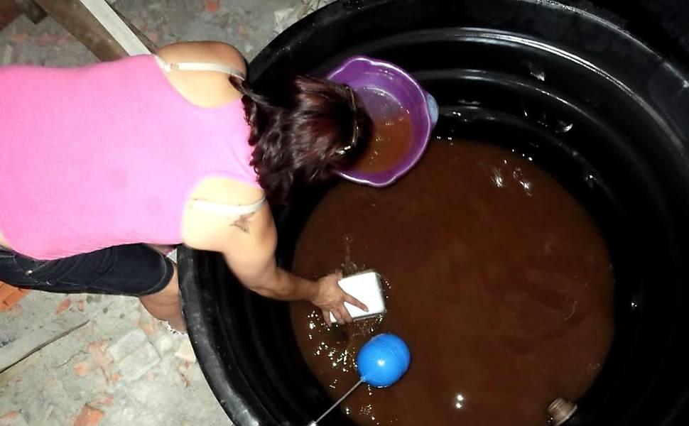 Falta d'água em Carapicuíba