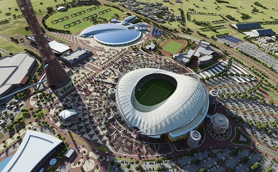 Estádios da Copa no Qatar em 2022