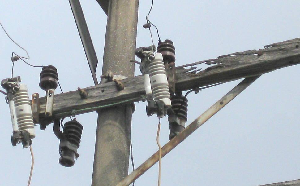 Problemas na rede elétrica