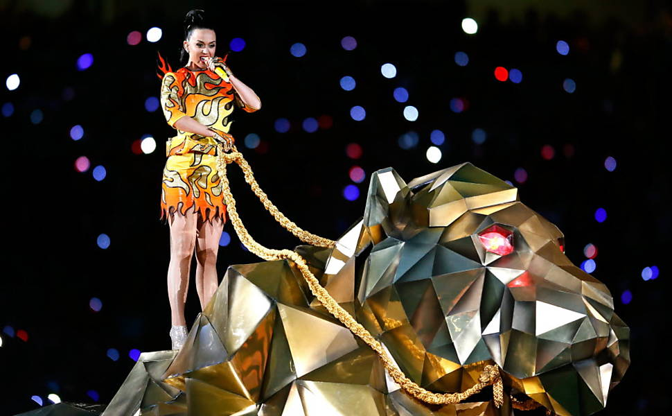 Show da Katy Perry no Super Bowl
