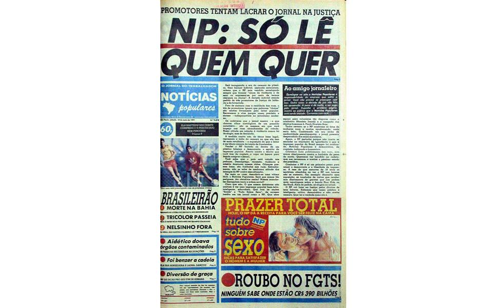 Censura no NP