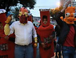 Bolivianos protestam contra corte de