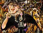 Desfile da São Clemente no segundo dia do Carnaval do Rio de Janeiro na Sapucaí <a href=
