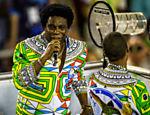 Neguinho da Beija-Flor no segundo dia do Carnaval do Rio de Janeiro na Sapucaí <a href=