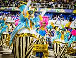 Desfile da União da Ilha no segundo dia do Carnaval do Rio de Janeiro na Sapucaí <a href=
